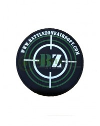BATTLEZONE AIRSOFT  BZ TARGET PATCH - BLACK