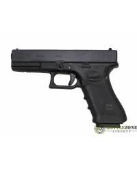 WE GLOCK 17 G17 EU17 GEN4 GBB PISTOL - BLACK