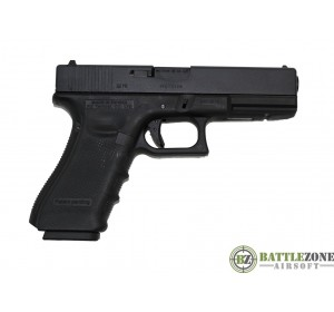 WE G17 EU17 GEN4 GBB PISTOL - BLACK