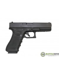 WE G18C EU18 GEN 4 GBB PISTOL - BLACK