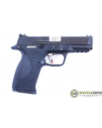 WE E FORCE BIG BIRD VENTED BLACK SLIDE AND SILVER BARREL