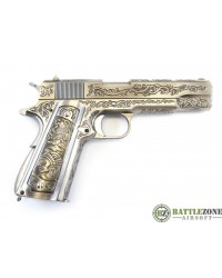 WE 1911 ENGRAVED 'MEHICO DRUGLORD' GBB PISTOL