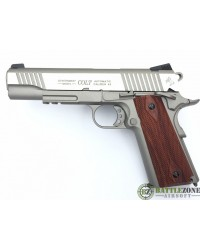 CYBERGUN KWC 1911 RAIL GUN CO2 PISTOL - STAINLESS