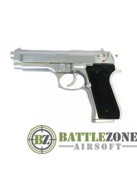 KWC M92FS GBB PISTOL ABS - SILVER