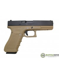 WE G18C EU18 GEN 4 GBB PISTOL - TAN