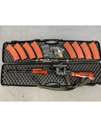 GHK AK74 GBB PACKAGE INCLUDING REAL STEAL RUSSIAN PK-A SIGHT