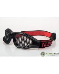 NUPROL SHADES MESH GOOGLES EYE PROTECTION - BLACK