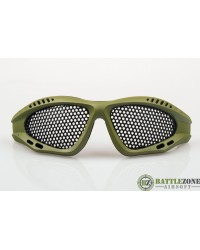NUPROL SHADES MESH GOOGLES EYE PROTECTION - GREEN