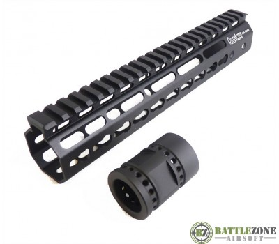 "ARES OCTARMS TACTICAL KEYMOD HANGUARD SYSTEM - 13.5"" BLACK"