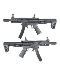 KING ARMS PDW 9MM SBR SHORTY AEG - BLACK