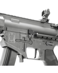 KING ARMS PDW 9MM SBR SHORTY AEG - GUN METAL GREY