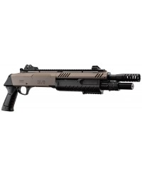"FABARM STF12 11"" SHORT PUMP ACTION TRI SHOT SHOTGUN - FDE"