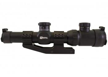 NUPROL OPTICS ZR10 1.25-5X26 IR - BLACK
