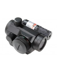 T1 STYLE SIGHT WITH RED LASER 1X22MM