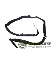 NUPROL TWO POINT BUNGEE SLING 1000D - BLACK