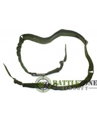 NUPROL TWO POINT BUNGEE SLING 1000D - OD GREEN