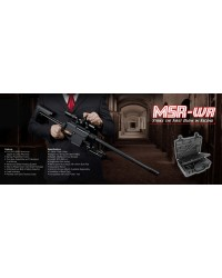 ARES SSR MSR-WR SNIPER RIFLE WITH HARD CASE