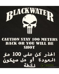 "BLACKWATER ""STAY BACK"" LONG SLEEVE T-SHIRT - XLARGE"
