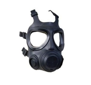 SWEDISH CIVIL DEFENCE GAS MASK FORSHEDA NBC F2 A4