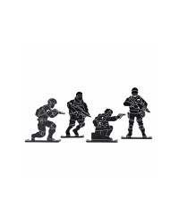 BIG FOOT SOLDIER TARGET - 4PCS