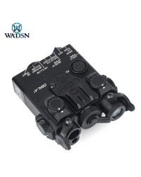 WADSN DBAL-A2 AIMING DEVICE WITH RED & IR LASER - BLACK (METAL)