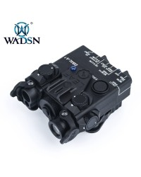 WADSN DBAL-A2 AIMING DEVICE WITH RED & IR LASER - BLACK