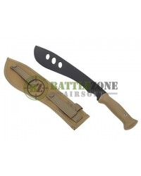 BIG FOOT RUBBER MACHETE - TAN