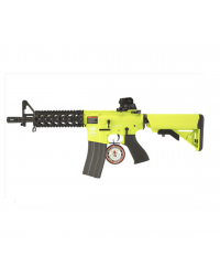 G&G ARMAMENT COMBAT MACHINE CM16 RAIDER AEG - TWO TONE GREEN