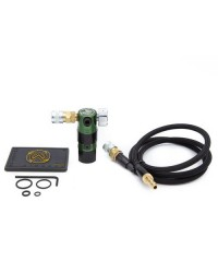 WOLVERINE AIRSOFT STORM REGULATOR ON TANK WITH REMOTE LINE - GREEN