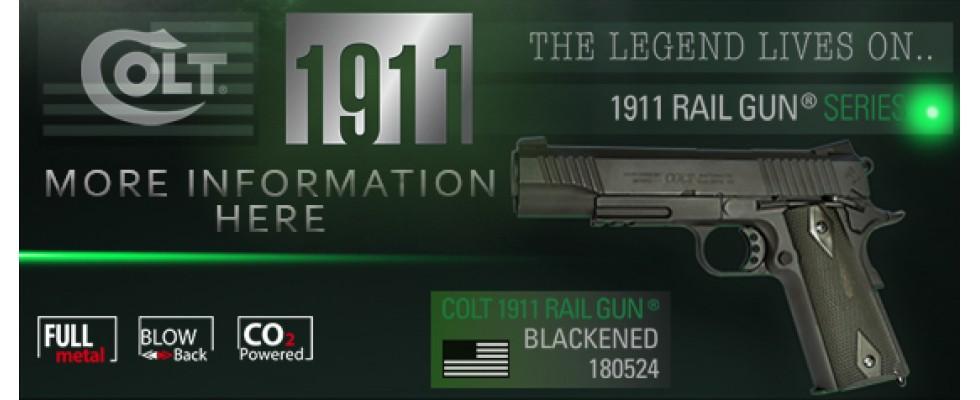 Cybergun 1911 railgun
